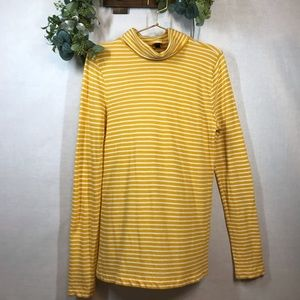 J.Crew Striped Long Sleeve Top Large